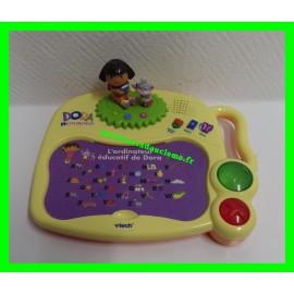 L'ordinateur éducatif de Dora Vtech (vendu avec 17 fiches recto-verso)