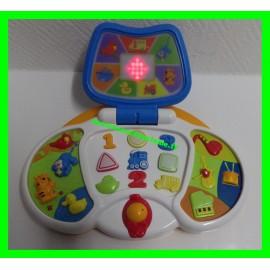 Ordinateur premier âge lumineux et musical Toys 'Rus